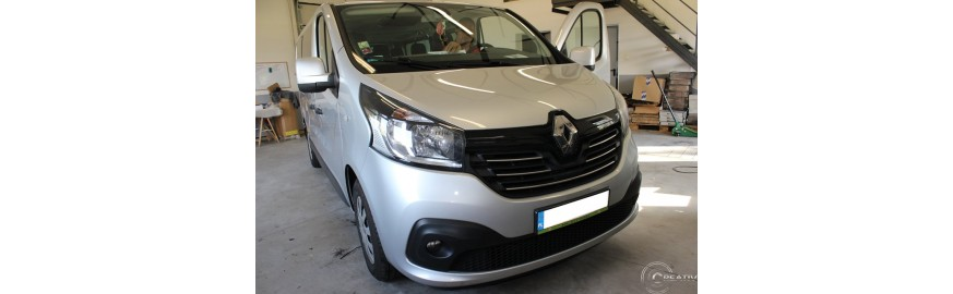 Renault Trafic 2018- multimedia i kamera cofania
