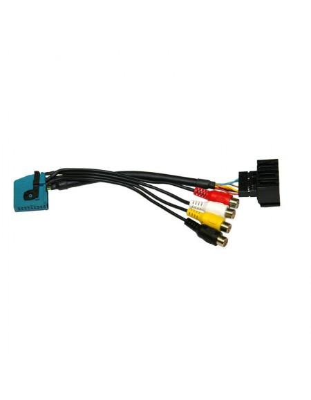 Adapter AV IN-OUT Wejście i wyjście A/V do nawigacji z Tunerem TV BMW MK1-4