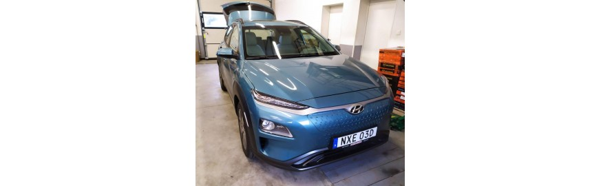 Hyundai Kona Electric - wyciszenie.