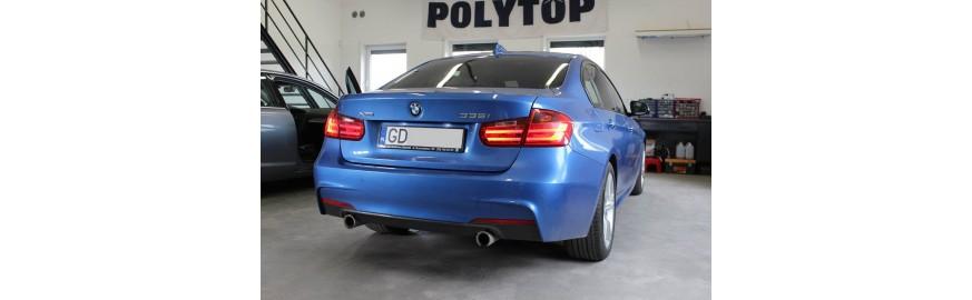 BMW F30 335i - doposażenie w nawigację NBT