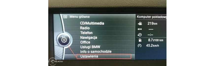 BMW F10 - doposażenie w Bluetooth i USB + Streaming