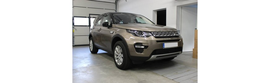 Land Rover Discovery Sport- wyciszenie