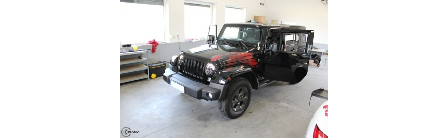 Jeep Wrangler - stacja multimedialna ALPINE, kamera cofania ALPINE
