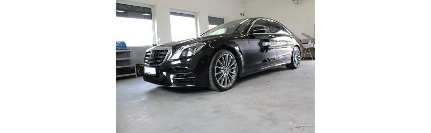 Mercedes S-klasa - montaż rejestratora BlackVue