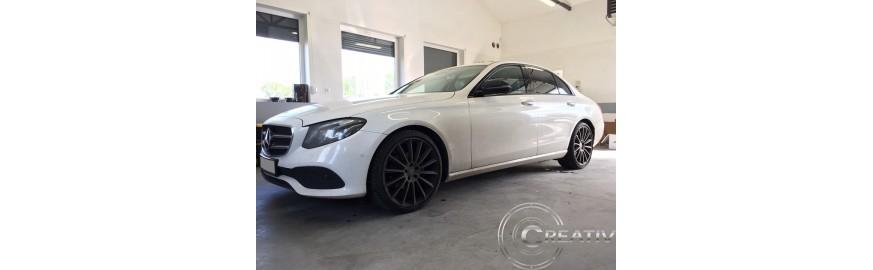 Mercedes E-klasa montaż zabezpieczenia przecikradzieżowego IGLA