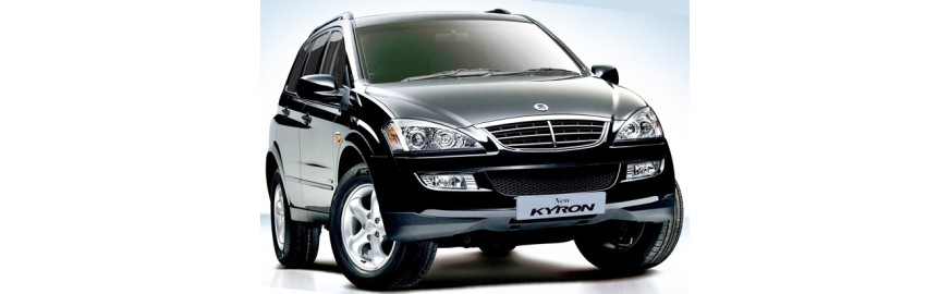 Ssang Yong Korando 2012 - kamera cofania + czujniki parkowania
