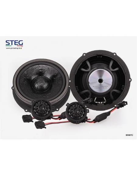 STEG Zestaw głośników Plug and Play do VW MVW 7C