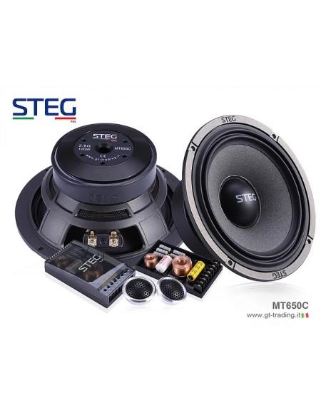 STEG MT650c - Zestaw 2-drożny odseparowany 168mm