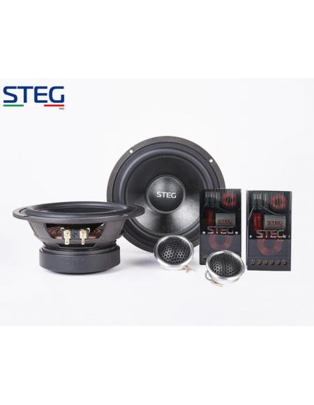 STEG MT650CII - Zestaw 2-drożny odseparowany 168mm