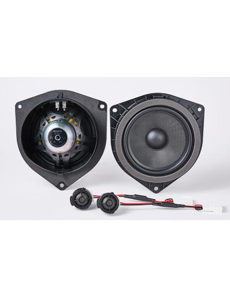 Zestaw dwudrożnych, odseparowanych głośników dedykowanych do Toyoty AWT650C