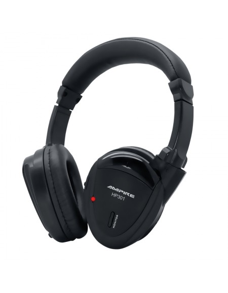 Słuchawki AMPIRE Dual Source IR, rozkładane, model HP301