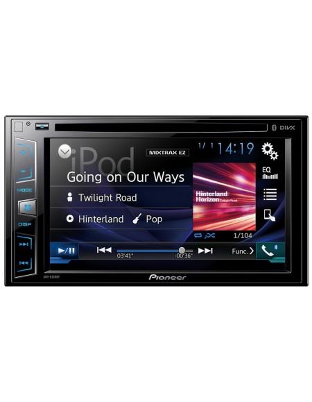 Pioneer AVH-X390BT Jednostka multimedialna AV z DVD