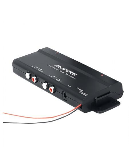 Nadajnik radiowy AMPIRE, 2-kanałowy, do słuchawek HP401